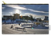 Sunny In The Snow Carry-all Pouch