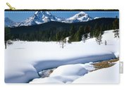 Sunny January Day Sawtooth Mountains Carry-all Pouch
