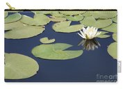 Sunny Lily Pond Carry-all Pouch