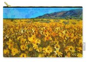 Sunny Meadow Carry-all Pouch