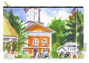 Sunny Morning On The City Square Carry-all Pouch