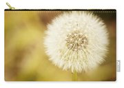Sunny On My Dandelion Carry-all Pouch