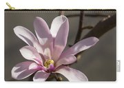 Sunny Pink Magnolia Blossom Carry-all Pouch