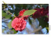 Sunny Red Camelias Carry-all Pouch
