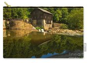 Sunny Refelctions In Slippery Rock Creek Carry-all Pouch