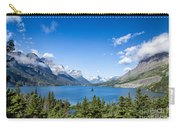 Sunny Saint Mary Lake Carry-all Pouch