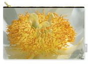 Sunny Side Peony Carry-all Pouch