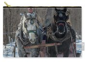 Sunny Sleigh Ride Carry-all Pouch