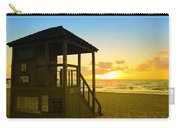 Sunny Sunrise Lifeguard Tower Carry-all Pouch
