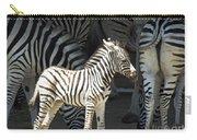 Sunny Zebra Carry-all Pouch