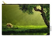 Sunrays In An Ireland Sheep Pasture  Carry-all Pouch