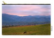 Sunrise And Deer In Cades Cove Carry-all Pouch