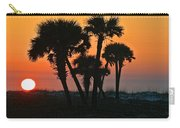 Sunrise And Group Of Palm Trees Carry-all Pouch