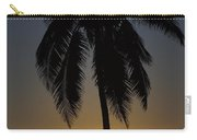 Sunrise And Palm Tree Carry-all Pouch