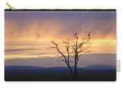 Sunrise And Rain Carry-all Pouch