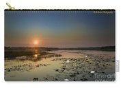 Sunrise And Water Lilies Carry-all Pouch