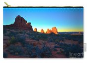 Sunrise At Arches National Park Carry-all Pouch