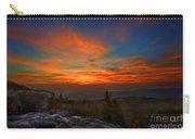 Sunrise At Bear Rocks In Dolly Sods Carry-all Pouch by Dan Friend
