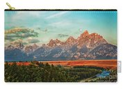 Sunrise At Grand Tetons Carry-all Pouch