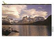 Sunrise At Lago Pehoe Carry-all Pouch