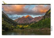 Sunrise At Maroon Bells Carry-all Pouch