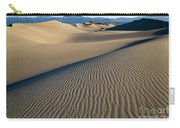 Sunrise At Mesquite Flat Sand Dunes Carry-all Pouch