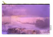 Sunrise At Minerva Springs Yellowstone National Park Carry-all Pouch
