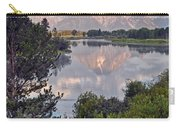 Sunrise At Oxbow Bend 3 Carry-all Pouch by Marty Koch