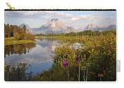 Sunrise At Oxbow Bend 5 Carry-all Pouch by Marty Koch