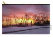 Sunrise At The Barn Carry-all Pouch