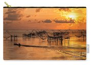 Sunrise At The Fishing Village Carry-all Pouch