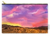 Sunrise At Zabriskie Point Carry-all Pouch