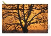 Sunrise Behind Walnut Tree Carry-all Pouch