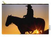 Sunrise Cowboy Carry-all Pouch