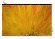 Sunrise Dahlia Abstract Carry-all Pouch