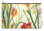 Sunrise Flowers Carry-all Pouch