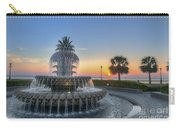 Sunrise In Charleston Carry-all Pouch