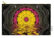Sunrise In Paradise Pop Art Carry-all Pouch