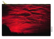 Sunrise In Red Carry-all Pouch