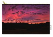 Sunrise In The Foothills Carry-all Pouch