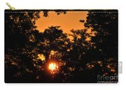 Sunrise In The Forest Carry-all Pouch