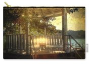 Sunrise In The Gazebo Carry-all Pouch