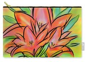 Sunrise Lily Carry-all Pouch