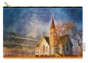Sunrise On A Rural Church 13 Carry-all Pouch