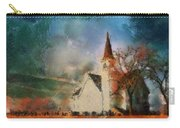 Sunrise On A Rural Church 18 Carry-all Pouch