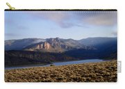 Sunrise On Blue Mesa Carry-all Pouch