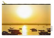 Sunrise On Ganges Carry-all Pouch
