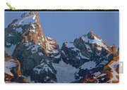 1m9333-h-sunrise On Grand Teton Carry-all Pouch