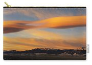 Sunrise On Lenticular Clouds Carry-all Pouch