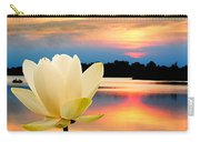 Sunrise On Lotus Lillie Carry-all Pouch